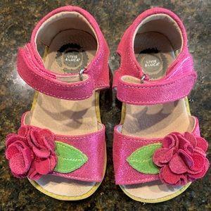 Livie Luca toddler girls sandals. Size 7.